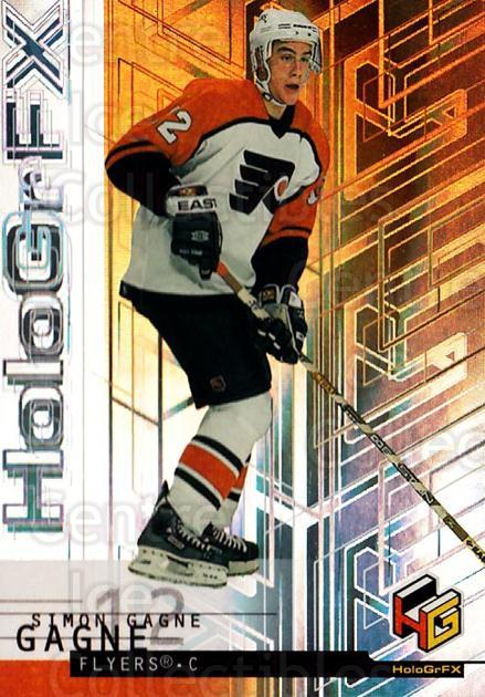 1999-00 Upper Deck HoloGrFx #42 Simon Gagne<br/>10 In Stock - $1.00 each - <a href=https://centericecollectibles.foxycart.com/cart?name=1999-00%20Upper%20Deck%20HoloGrFx%20%2342%20Simon%20Gagne...&quantity_max=10&price=$1.00&code=81889 class=foxycart> Buy it now! </a>