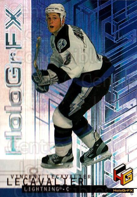 1999-00 Upper Deck HoloGrFx #54 Vincent Lecavalier<br/>11 In Stock - $1.00 each - <a href=https://centericecollectibles.foxycart.com/cart?name=1999-00%20Upper%20Deck%20HoloGrFx%20%2354%20Vincent%20Lecaval...&quantity_max=11&price=$1.00&code=81902 class=foxycart> Buy it now! </a>