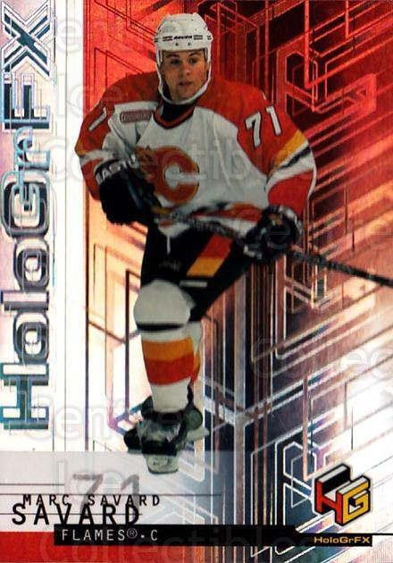 1999-00 Upper Deck HoloGrFx #8 Marc Savard<br/>11 In Stock - $1.00 each - <a href=https://centericecollectibles.foxycart.com/cart?name=1999-00%20Upper%20Deck%20HoloGrFx%20%238%20Marc%20Savard...&quantity_max=11&price=$1.00&code=81911 class=foxycart> Buy it now! </a>