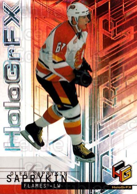 1999-00 Upper Deck HoloGrFx #9 Oleg Saprykin<br/>10 In Stock - $1.00 each - <a href=https://centericecollectibles.foxycart.com/cart?name=1999-00%20Upper%20Deck%20HoloGrFx%20%239%20Oleg%20Saprykin...&quantity_max=10&price=$1.00&code=81912 class=foxycart> Buy it now! </a>