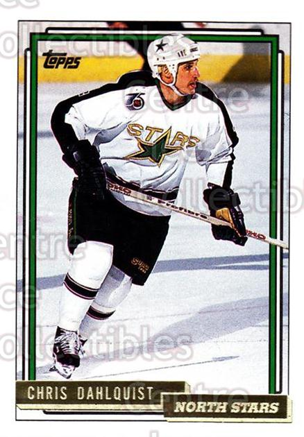 1992-93 Topps Gold #231 Chris Dahlquist<br/>8 In Stock - $2.00 each - <a href=https://centericecollectibles.foxycart.com/cart?name=1992-93%20Topps%20Gold%20%23231%20Chris%20Dahlquist...&quantity_max=8&price=$2.00&code=8192 class=foxycart> Buy it now! </a>