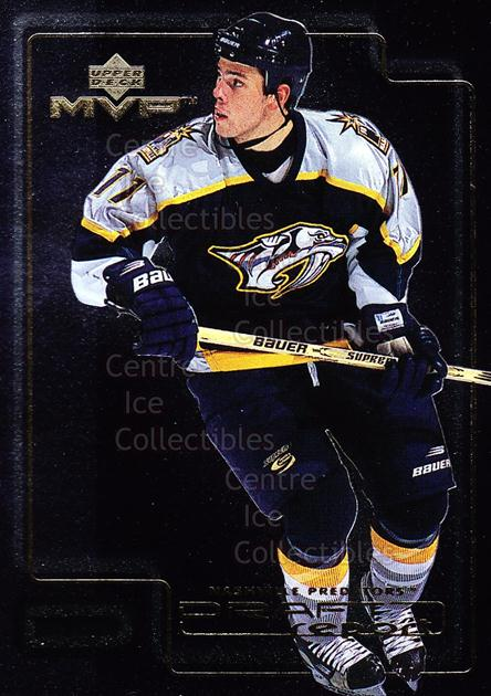 1999-00 Upper Deck MVP Draft Report #5 David Legwand<br/>17 In Stock - $2.00 each - <a href=https://centericecollectibles.foxycart.com/cart?name=1999-00%20Upper%20Deck%20MVP%20Draft%20Report%20%235%20David%20Legwand...&quantity_max=17&price=$2.00&code=81934 class=foxycart> Buy it now! </a>