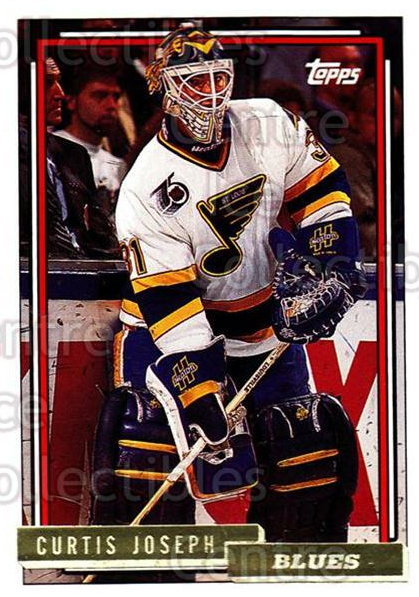 1992-93 Topps Gold #237 Curtis Joseph<br/>5 In Stock - $2.00 each - <a href=https://centericecollectibles.foxycart.com/cart?name=1992-93%20Topps%20Gold%20%23237%20Curtis%20Joseph...&quantity_max=5&price=$2.00&code=8198 class=foxycart> Buy it now! </a>