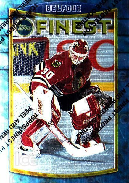1994-95 Finest #51 Ed Belfour<br/>2 In Stock - $1.00 each - <a href=https://centericecollectibles.foxycart.com/cart?name=1994-95%20Finest%20%2351%20Ed%20Belfour...&price=$1.00&code=819 class=foxycart> Buy it now! </a>