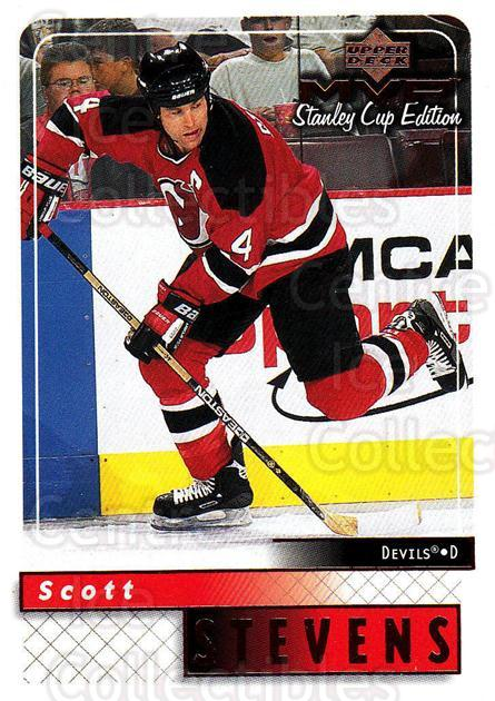 1999-00 Upper Deck MVP SC Edition #105 Scott Stevens<br/>4 In Stock - $1.00 each - <a href=https://centericecollectibles.foxycart.com/cart?name=1999-00%20Upper%20Deck%20MVP%20SC%20Edition%20%23105%20Scott%20Stevens...&quantity_max=4&price=$1.00&code=82228 class=foxycart> Buy it now! </a>