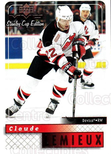 1999-00 Upper Deck MVP SC Edition #106 Claude Lemieux<br/>4 In Stock - $1.00 each - <a href=https://centericecollectibles.foxycart.com/cart?name=1999-00%20Upper%20Deck%20MVP%20SC%20Edition%20%23106%20Claude%20Lemieux...&quantity_max=4&price=$1.00&code=82229 class=foxycart> Buy it now! </a>