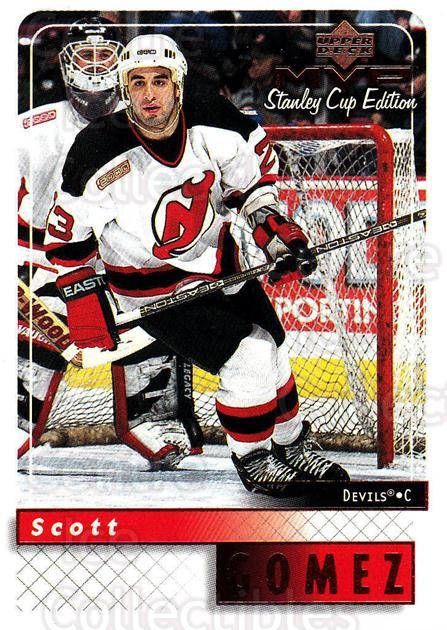 1999-00 Upper Deck MVP SC Edition #107 Scott Gomez<br/>3 In Stock - $1.00 each - <a href=https://centericecollectibles.foxycart.com/cart?name=1999-00%20Upper%20Deck%20MVP%20SC%20Edition%20%23107%20Scott%20Gomez...&quantity_max=3&price=$1.00&code=82230 class=foxycart> Buy it now! </a>