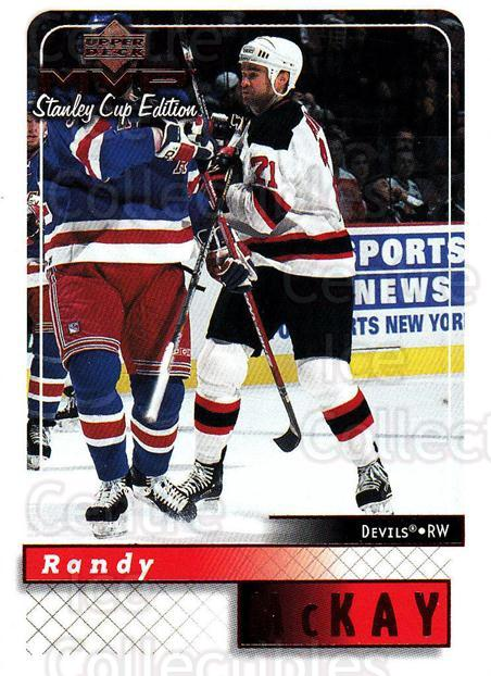 1999-00 Upper Deck MVP SC Edition #109 Randy McKay<br/>3 In Stock - $1.00 each - <a href=https://centericecollectibles.foxycart.com/cart?name=1999-00%20Upper%20Deck%20MVP%20SC%20Edition%20%23109%20Randy%20McKay...&quantity_max=3&price=$1.00&code=82232 class=foxycart> Buy it now! </a>