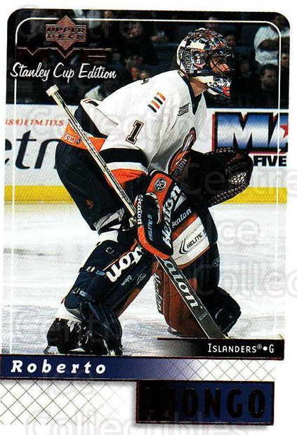 1999-00 Upper Deck MVP SC Edition #112 Roberto Luongo<br/>4 In Stock - $1.00 each - <a href=https://centericecollectibles.foxycart.com/cart?name=1999-00%20Upper%20Deck%20MVP%20SC%20Edition%20%23112%20Roberto%20Luongo...&quantity_max=4&price=$1.00&code=82236 class=foxycart> Buy it now! </a>