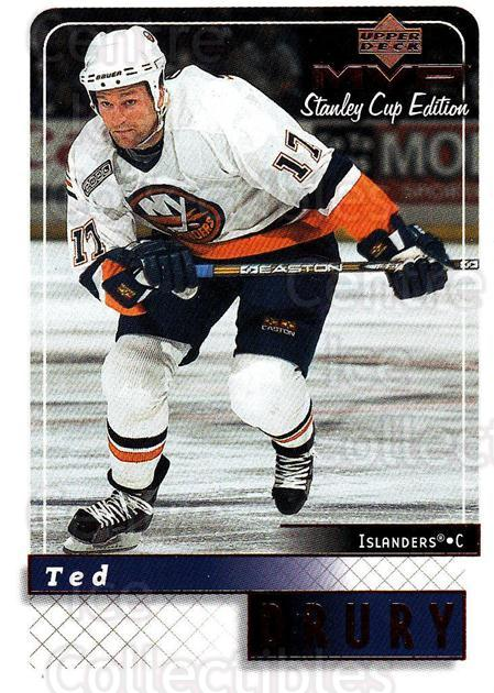 1999-00 Upper Deck MVP SC Edition #116 Ted Drury<br/>4 In Stock - $1.00 each - <a href=https://centericecollectibles.foxycart.com/cart?name=1999-00%20Upper%20Deck%20MVP%20SC%20Edition%20%23116%20Ted%20Drury...&quantity_max=4&price=$1.00&code=82240 class=foxycart> Buy it now! </a>