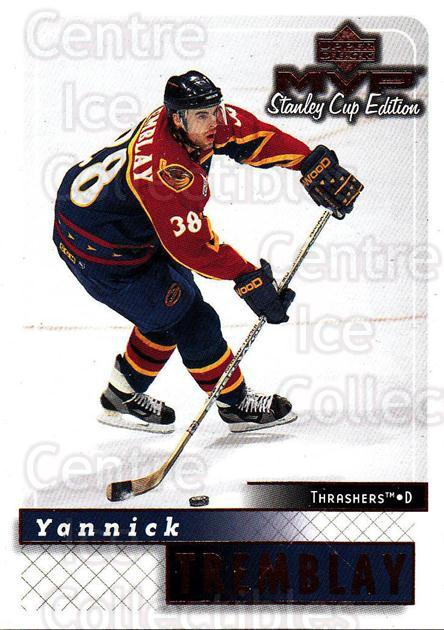 1999-00 Upper Deck MVP SC Edition #12 Yannick Tremblay<br/>3 In Stock - $1.00 each - <a href=https://centericecollectibles.foxycart.com/cart?name=1999-00%20Upper%20Deck%20MVP%20SC%20Edition%20%2312%20Yannick%20Trembla...&quantity_max=3&price=$1.00&code=82244 class=foxycart> Buy it now! </a>