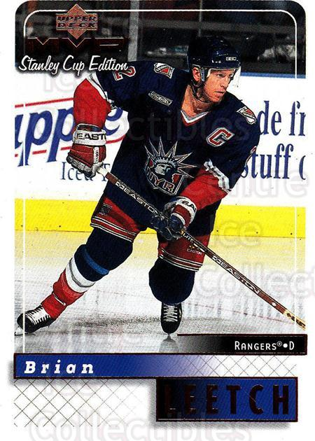 1999-00 Upper Deck MVP SC Edition #120 Brian Leetch<br/>4 In Stock - $1.00 each - <a href=https://centericecollectibles.foxycart.com/cart?name=1999-00%20Upper%20Deck%20MVP%20SC%20Edition%20%23120%20Brian%20Leetch...&quantity_max=4&price=$1.00&code=82245 class=foxycart> Buy it now! </a>