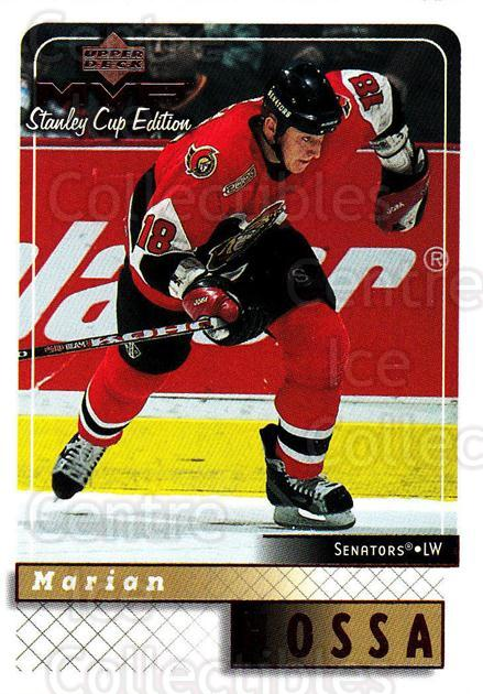 1999-00 Upper Deck MVP SC Edition #124 Marian Hossa<br/>4 In Stock - $1.00 each - <a href=https://centericecollectibles.foxycart.com/cart?name=1999-00%20Upper%20Deck%20MVP%20SC%20Edition%20%23124%20Marian%20Hossa...&quantity_max=4&price=$1.00&code=82249 class=foxycart> Buy it now! </a>