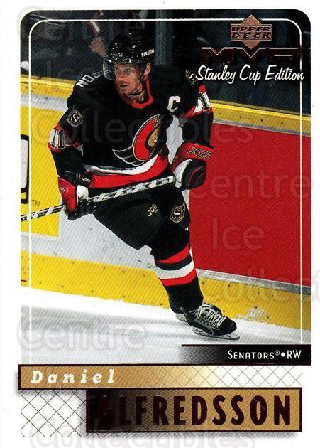 1999-00 Upper Deck MVP SC Edition #126 Daniel Alfredsson<br/>4 In Stock - $1.00 each - <a href=https://centericecollectibles.foxycart.com/cart?name=1999-00%20Upper%20Deck%20MVP%20SC%20Edition%20%23126%20Daniel%20Alfredss...&quantity_max=4&price=$1.00&code=82251 class=foxycart> Buy it now! </a>