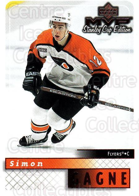 1999-00 Upper Deck MVP SC Edition #133 Simon Gagne<br/>3 In Stock - $1.00 each - <a href=https://centericecollectibles.foxycart.com/cart?name=1999-00%20Upper%20Deck%20MVP%20SC%20Edition%20%23133%20Simon%20Gagne...&quantity_max=3&price=$1.00&code=82259 class=foxycart> Buy it now! </a>