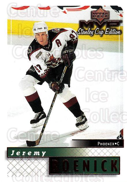 1999-00 Upper Deck MVP SC Edition #140 Jeremy Roenick<br/>4 In Stock - $1.00 each - <a href=https://centericecollectibles.foxycart.com/cart?name=1999-00%20Upper%20Deck%20MVP%20SC%20Edition%20%23140%20Jeremy%20Roenick...&quantity_max=4&price=$1.00&code=82267 class=foxycart> Buy it now! </a>