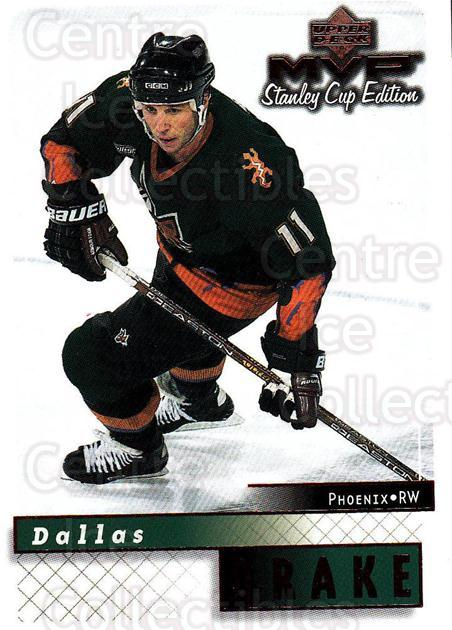 1999-00 Upper Deck MVP SC Edition #142 Dallas Drake<br/>4 In Stock - $1.00 each - <a href=https://centericecollectibles.foxycart.com/cart?name=1999-00%20Upper%20Deck%20MVP%20SC%20Edition%20%23142%20Dallas%20Drake...&quantity_max=4&price=$1.00&code=82269 class=foxycart> Buy it now! </a>