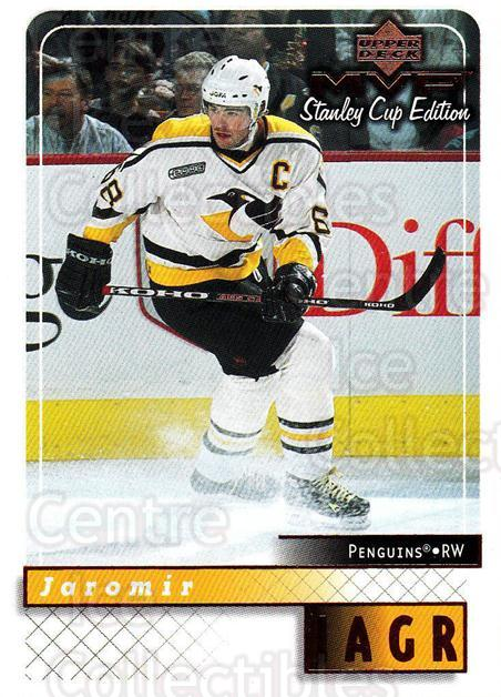 1999-00 Upper Deck MVP SC Edition #146 Jaromir Jagr<br/>4 In Stock - $2.00 each - <a href=https://centericecollectibles.foxycart.com/cart?name=1999-00%20Upper%20Deck%20MVP%20SC%20Edition%20%23146%20Jaromir%20Jagr...&quantity_max=4&price=$2.00&code=82273 class=foxycart> Buy it now! </a>