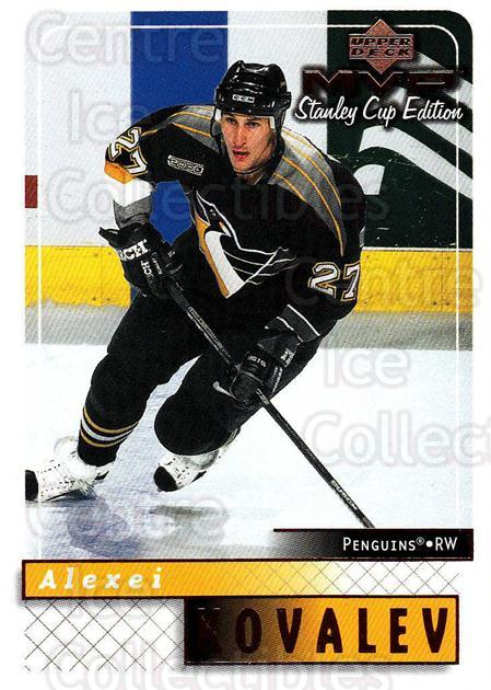 1999-00 Upper Deck MVP SC Edition #147 Alexei Kovalev<br/>4 In Stock - $1.00 each - <a href=https://centericecollectibles.foxycart.com/cart?name=1999-00%20Upper%20Deck%20MVP%20SC%20Edition%20%23147%20Alexei%20Kovalev...&quantity_max=4&price=$1.00&code=82274 class=foxycart> Buy it now! </a>