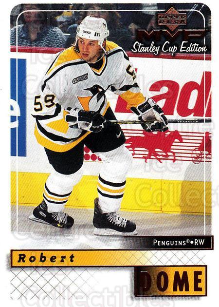 1999-00 Upper Deck MVP SC Edition #151 Robert Dome<br/>1 In Stock - $1.00 each - <a href=https://centericecollectibles.foxycart.com/cart?name=1999-00%20Upper%20Deck%20MVP%20SC%20Edition%20%23151%20Robert%20Dome...&quantity_max=1&price=$1.00&code=82279 class=foxycart> Buy it now! </a>