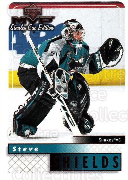 1999-00 Upper Deck MVP SC Edition #155 Steve Shields<br/>4 In Stock - $1.00 each - <a href=https://centericecollectibles.foxycart.com/cart?name=1999-00%20Upper%20Deck%20MVP%20SC%20Edition%20%23155%20Steve%20Shields...&quantity_max=4&price=$1.00&code=82283 class=foxycart> Buy it now! </a>