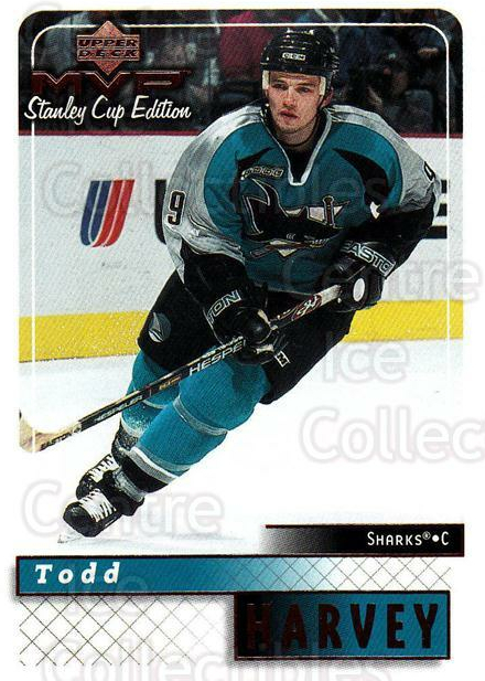 1999-00 Upper Deck MVP SC Edition #159 Todd Harvey<br/>4 In Stock - $1.00 each - <a href=https://centericecollectibles.foxycart.com/cart?name=1999-00%20Upper%20Deck%20MVP%20SC%20Edition%20%23159%20Todd%20Harvey...&quantity_max=4&price=$1.00&code=82287 class=foxycart> Buy it now! </a>