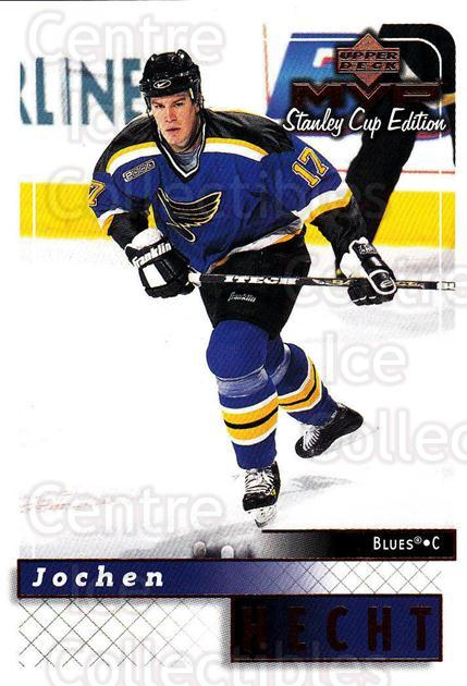 1999-00 Upper Deck MVP SC Edition #164 Jochen Hecht<br/>4 In Stock - $1.00 each - <a href=https://centericecollectibles.foxycart.com/cart?name=1999-00%20Upper%20Deck%20MVP%20SC%20Edition%20%23164%20Jochen%20Hecht...&quantity_max=4&price=$1.00&code=82293 class=foxycart> Buy it now! </a>