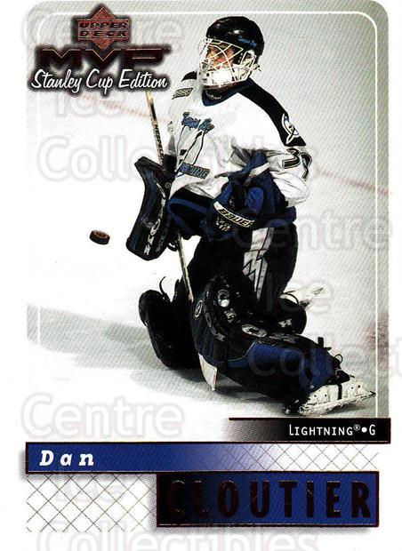 1999-00 Upper Deck MVP SC Edition #168 Dan Cloutier<br/>4 In Stock - $1.00 each - <a href=https://centericecollectibles.foxycart.com/cart?name=1999-00%20Upper%20Deck%20MVP%20SC%20Edition%20%23168%20Dan%20Cloutier...&quantity_max=4&price=$1.00&code=82297 class=foxycart> Buy it now! </a>