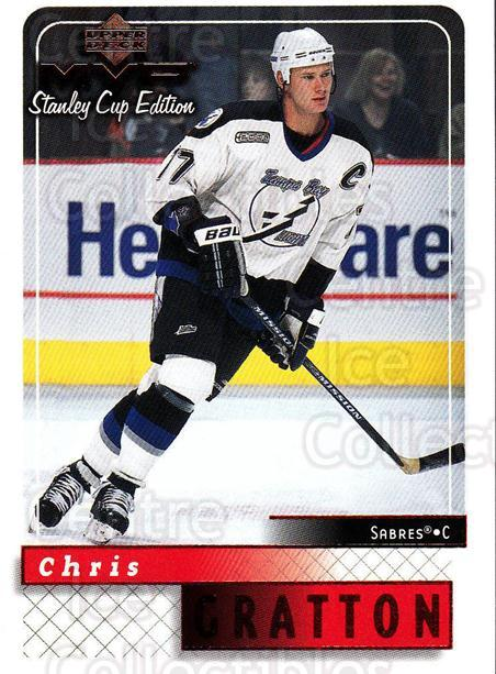 1999-00 Upper Deck MVP SC Edition #169 Chris Gratton<br/>4 In Stock - $1.00 each - <a href=https://centericecollectibles.foxycart.com/cart?name=1999-00%20Upper%20Deck%20MVP%20SC%20Edition%20%23169%20Chris%20Gratton...&quantity_max=4&price=$1.00&code=82298 class=foxycart> Buy it now! </a>