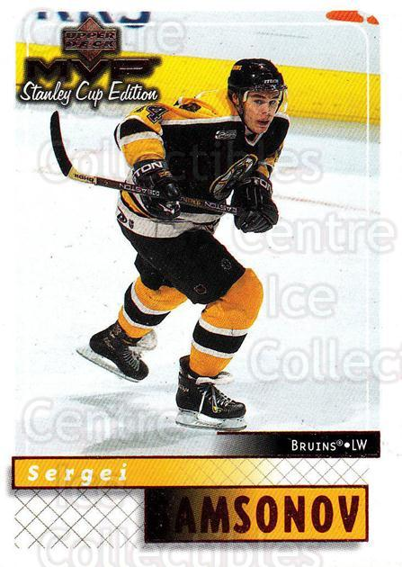 1999-00 Upper Deck MVP SC Edition #17 Sergei Samsonov<br/>4 In Stock - $1.00 each - <a href=https://centericecollectibles.foxycart.com/cart?name=1999-00%20Upper%20Deck%20MVP%20SC%20Edition%20%2317%20Sergei%20Samsonov...&quantity_max=4&price=$1.00&code=82299 class=foxycart> Buy it now! </a>