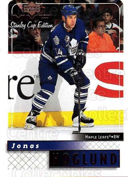 1999-00 Upper Deck MVP SC Edition #175 Jonas Hoglund<br/>4 In Stock - $1.00 each - <a href=https://centericecollectibles.foxycart.com/cart?name=1999-00%20Upper%20Deck%20MVP%20SC%20Edition%20%23175%20Jonas%20Hoglund...&quantity_max=4&price=$1.00&code=82305 class=foxycart> Buy it now! </a>