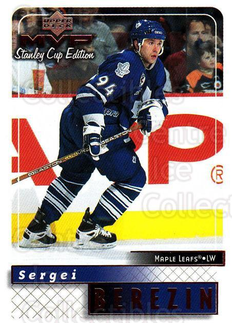 1999-00 Upper Deck MVP SC Edition #176 Sergei Berezin<br/>4 In Stock - $1.00 each - <a href=https://centericecollectibles.foxycart.com/cart?name=1999-00%20Upper%20Deck%20MVP%20SC%20Edition%20%23176%20Sergei%20Berezin...&quantity_max=4&price=$1.00&code=82306 class=foxycart> Buy it now! </a>