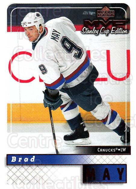 1999-00 Upper Deck MVP SC Edition #187 Brad May<br/>4 In Stock - $1.00 each - <a href=https://centericecollectibles.foxycart.com/cart?name=1999-00%20Upper%20Deck%20MVP%20SC%20Edition%20%23187%20Brad%20May...&quantity_max=4&price=$1.00&code=82318 class=foxycart> Buy it now! </a>