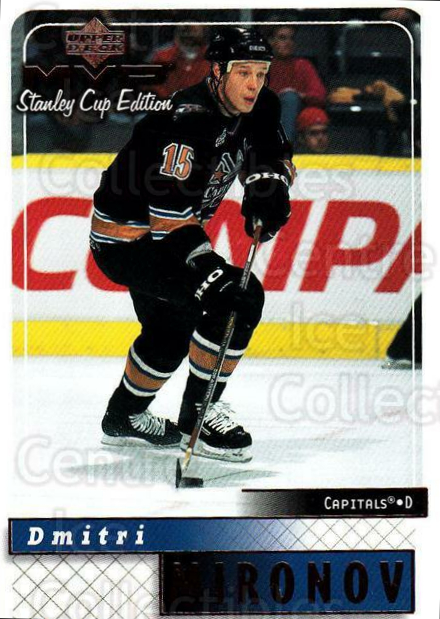 1999-00 Upper Deck MVP SC Edition #190 Dmitri Mironov<br/>4 In Stock - $1.00 each - <a href=https://centericecollectibles.foxycart.com/cart?name=1999-00%20Upper%20Deck%20MVP%20SC%20Edition%20%23190%20Dmitri%20Mironov...&quantity_max=4&price=$1.00&code=82322 class=foxycart> Buy it now! </a>