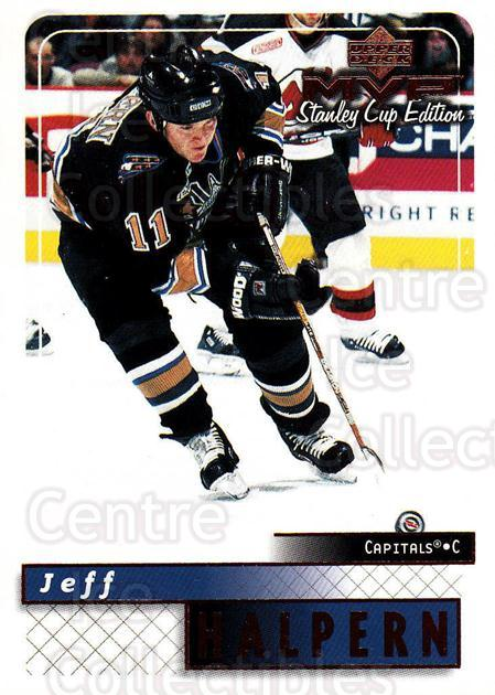1999-00 Upper Deck MVP SC Edition #191 Jeff Halpern<br/>4 In Stock - $1.00 each - <a href=https://centericecollectibles.foxycart.com/cart?name=1999-00%20Upper%20Deck%20MVP%20SC%20Edition%20%23191%20Jeff%20Halpern...&quantity_max=4&price=$1.00&code=82323 class=foxycart> Buy it now! </a>