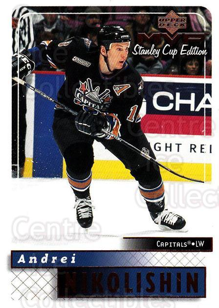 1999-00 Upper Deck MVP SC Edition #192 Andrei Nikolishin<br/>4 In Stock - $1.00 each - <a href=https://centericecollectibles.foxycart.com/cart?name=1999-00%20Upper%20Deck%20MVP%20SC%20Edition%20%23192%20Andrei%20Nikolish...&quantity_max=4&price=$1.00&code=82324 class=foxycart> Buy it now! </a>