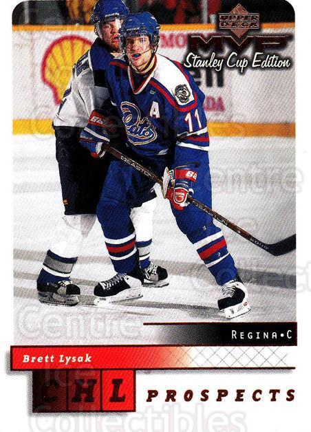 1999-00 Upper Deck MVP SC Edition #204 Brett Lysak<br/>3 In Stock - $1.00 each - <a href=https://centericecollectibles.foxycart.com/cart?name=1999-00%20Upper%20Deck%20MVP%20SC%20Edition%20%23204%20Brett%20Lysak...&quantity_max=3&price=$1.00&code=82336 class=foxycart> Buy it now! </a>