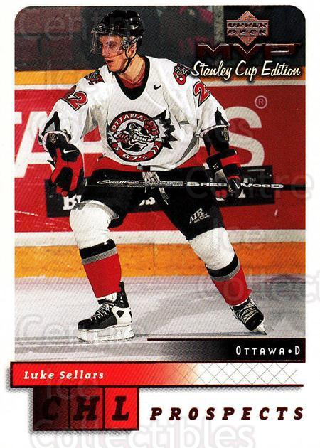 1999-00 Upper Deck MVP SC Edition #206 Luke Sellars<br/>3 In Stock - $1.00 each - <a href=https://centericecollectibles.foxycart.com/cart?name=1999-00%20Upper%20Deck%20MVP%20SC%20Edition%20%23206%20Luke%20Sellars...&quantity_max=3&price=$1.00&code=82338 class=foxycart> Buy it now! </a>