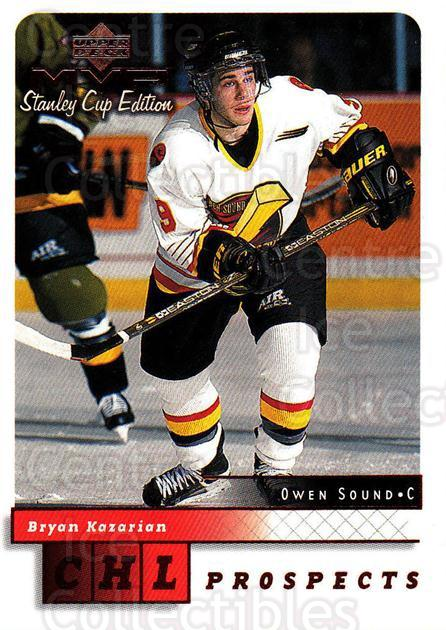 1999-00 Upper Deck MVP SC Edition #208 Bryan Kazarian<br/>3 In Stock - $1.00 each - <a href=https://centericecollectibles.foxycart.com/cart?name=1999-00%20Upper%20Deck%20MVP%20SC%20Edition%20%23208%20Bryan%20Kazarian...&quantity_max=3&price=$1.00&code=82340 class=foxycart> Buy it now! </a>