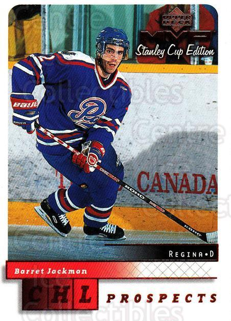 1999-00 Upper Deck MVP SC Edition #209 Barret Jackman<br/>4 In Stock - $1.00 each - <a href=https://centericecollectibles.foxycart.com/cart?name=1999-00%20Upper%20Deck%20MVP%20SC%20Edition%20%23209%20Barret%20Jackman...&quantity_max=4&price=$1.00&code=82341 class=foxycart> Buy it now! </a>