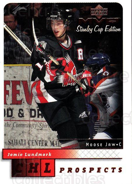 1999-00 Upper Deck MVP SC Edition #211 Jamie Lundmark<br/>1 In Stock - $1.00 each - <a href=https://centericecollectibles.foxycart.com/cart?name=1999-00%20Upper%20Deck%20MVP%20SC%20Edition%20%23211%20Jamie%20Lundmark...&quantity_max=1&price=$1.00&code=82344 class=foxycart> Buy it now! </a>