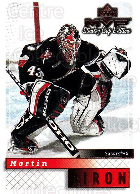 1999-00 Upper Deck MVP SC Edition #25 Martin Biron<br/>4 In Stock - $1.00 each - <a href=https://centericecollectibles.foxycart.com/cart?name=1999-00%20Upper%20Deck%20MVP%20SC%20Edition%20%2325%20Martin%20Biron...&quantity_max=4&price=$1.00&code=82357 class=foxycart> Buy it now! </a>