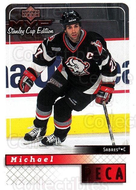 1999-00 Upper Deck MVP SC Edition #27 Mike Peca<br/>2 In Stock - $1.00 each - <a href=https://centericecollectibles.foxycart.com/cart?name=1999-00%20Upper%20Deck%20MVP%20SC%20Edition%20%2327%20Mike%20Peca...&quantity_max=2&price=$1.00&code=82359 class=foxycart> Buy it now! </a>