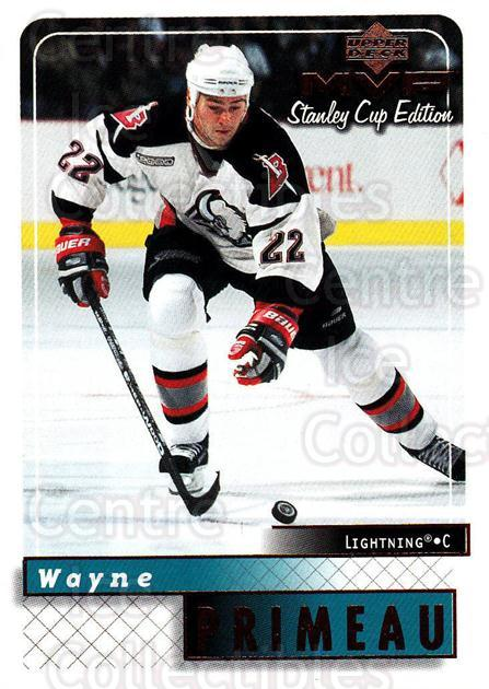 1999-00 Upper Deck MVP SC Edition #28 Wayne Primeau<br/>4 In Stock - $1.00 each - <a href=https://centericecollectibles.foxycart.com/cart?name=1999-00%20Upper%20Deck%20MVP%20SC%20Edition%20%2328%20Wayne%20Primeau...&quantity_max=4&price=$1.00&code=82360 class=foxycart> Buy it now! </a>