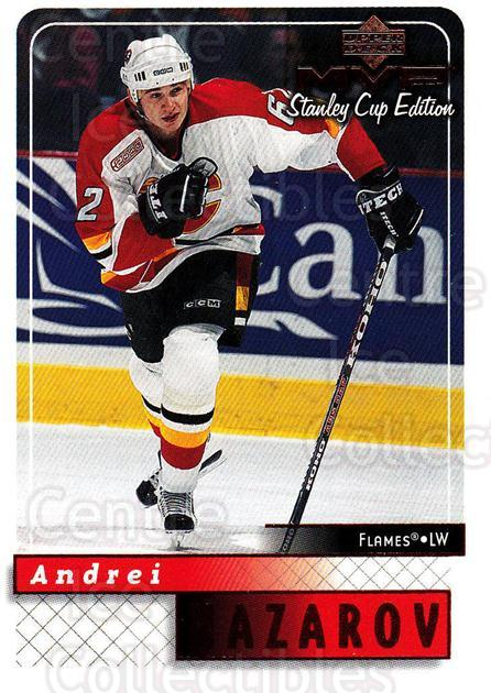 1999-00 Upper Deck MVP SC Edition #34 Andrei Nazarov<br/>4 In Stock - $1.00 each - <a href=https://centericecollectibles.foxycart.com/cart?name=1999-00%20Upper%20Deck%20MVP%20SC%20Edition%20%2334%20Andrei%20Nazarov...&quantity_max=4&price=$1.00&code=82367 class=foxycart> Buy it now! </a>