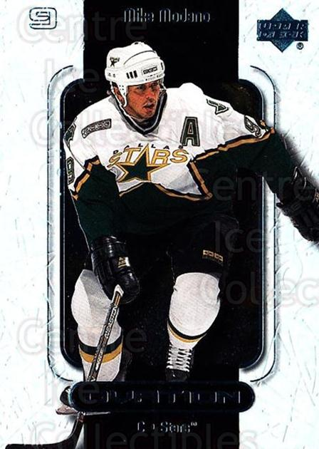 1999-00 UD Ovation #19 Mike Modano<br/>7 In Stock - $1.00 each - <a href=https://centericecollectibles.foxycart.com/cart?name=1999-00%20UD%20Ovation%20%2319%20Mike%20Modano...&quantity_max=7&price=$1.00&code=82564 class=foxycart> Buy it now! </a>