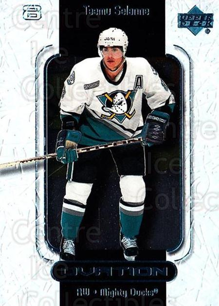 1999-00 UD Ovation #2 Teemu Selanne<br/>7 In Stock - $2.00 each - <a href=https://centericecollectibles.foxycart.com/cart?name=1999-00%20UD%20Ovation%20%232%20Teemu%20Selanne...&quantity_max=7&price=$2.00&code=82565 class=foxycart> Buy it now! </a>