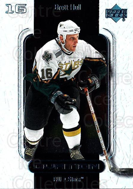 1999-00 UD Ovation #21 Brett Hull<br/>7 In Stock - $2.00 each - <a href=https://centericecollectibles.foxycart.com/cart?name=1999-00%20UD%20Ovation%20%2321%20Brett%20Hull...&quantity_max=7&price=$2.00&code=82567 class=foxycart> Buy it now! </a>