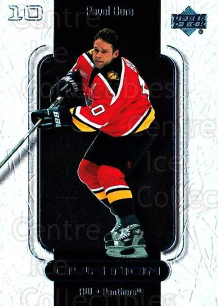 1999-00 UD Ovation #27 Pavel Bure<br/>7 In Stock - $1.00 each - <a href=https://centericecollectibles.foxycart.com/cart?name=1999-00%20UD%20Ovation%20%2327%20Pavel%20Bure...&quantity_max=7&price=$1.00&code=82572 class=foxycart> Buy it now! </a>