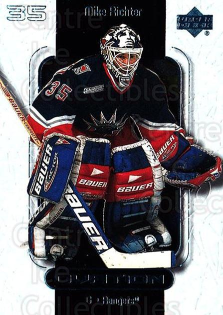 1999-00 UD Ovation #37 Mike Richter<br/>7 In Stock - $1.00 each - <a href=https://centericecollectibles.foxycart.com/cart?name=1999-00%20UD%20Ovation%20%2337%20Mike%20Richter...&quantity_max=7&price=$1.00&code=82582 class=foxycart> Buy it now! </a>